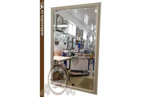 Зеркало №124 заказать зеркало в багетной раме цвет бежевый | Купить | Багет под размер | Стекло и Зеркала | Брянск