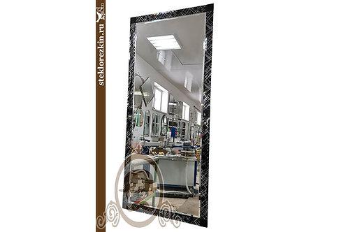 Зеркало №181 (Созвездие и Лакобель, чёрное)