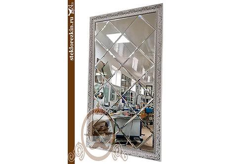 №151 зеркальное панно в багетной раме в сборе под ключ зал| Купить | Зеркальные плитки по размеру | Стекло и Зеркала | Брянск