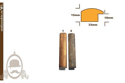 Пластиковый багет «Серия 33»