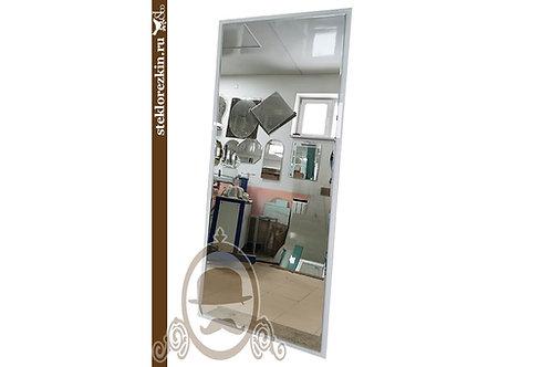 Зеркало №168 (высокое, белое Лакобель)