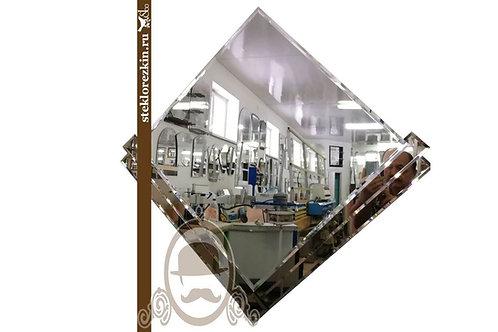 Зеркало №86.2 оригинальное наугольник декор зеркало бронза дизайнерское | Купить | Изготовление | Стекло и Зеркала | Брянск