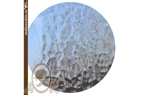 Стекло рифлёное лепное рельеф Атлантик прозрачное, бесцветное | Вырезать под размер | Заказать Купить | Стеклорезка | Брянск