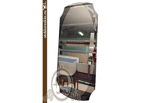 Зеркало №20.1 настенное овальное зеркало в коридор индивидуальный размер | Купить | На заказ | Стекло и Зеркала | Брянск