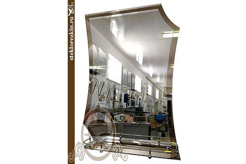 Зеркало №62 (бронза, с полкой)