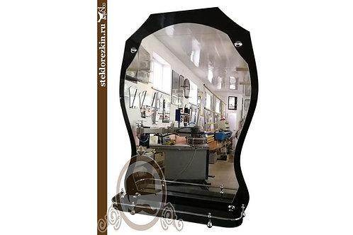Зеркало №73 (Лакобель, чёрное)