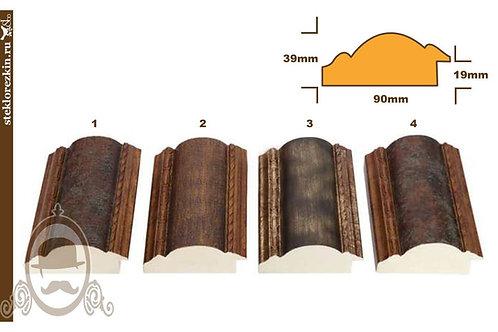 Серия 925 пластиковый широкий багет иммитация старины | Купить | Багет для зеркала | Изготовление | Стекло и Зеркала | Брянск