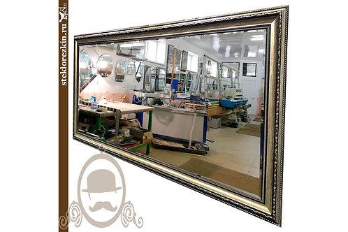 Зеркало №75 в багетной раме на заказ по индивидуальным  размерам фацет | Купить | Сделать багет | Стекло и Зеркала | Брянск