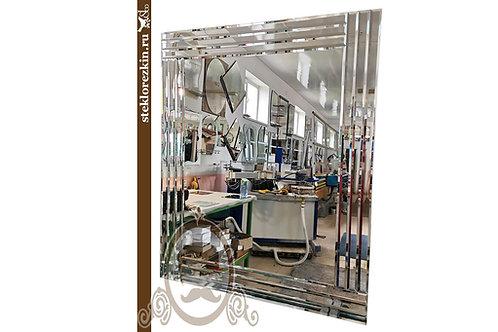 Зеркало №189 (с фацетными полосками в рамке)
