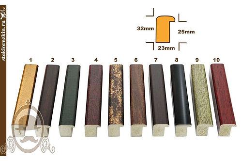 Серия 24 маленькая ширина глубокий пластиковый багет | Купить | Багет для картин | Изготовление | Стекло и Зеркала | Брянск