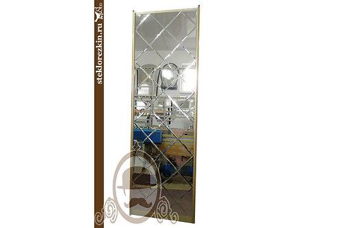Зеркало №115 зеркальное панно и плитки для двери в шкаф купе | Купить | Заказ изготовление размер | Стекло и Зеркала | Брянск
