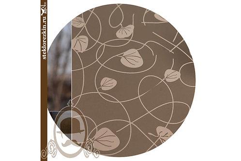 Зеркало узорчатое Плющ Бронзовое Бронза   Для мебели мебельщиков   Резка   Мои размеры   Стекло и Зеркала   Брянск