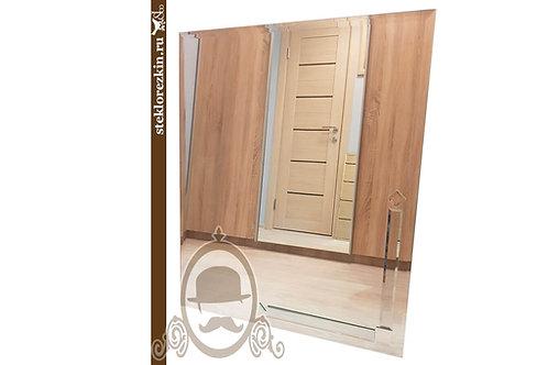 Зеркало №114 прямоугольное в коридор ванную комнату фацет | Купить и изготовить в размер на заказ | Стекло и Зеркала | Брянск