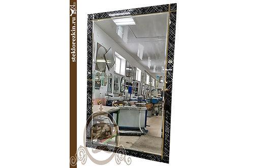 Зеркало №180 (Созвездие чёрное, золотое)