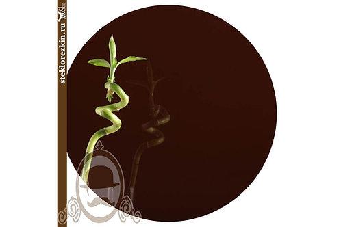 Стекло непрозрачное глянцевое Лакобель цвет коричневый | Для фасадов шкафов | Резка | По размеру | Стекло и Зеркала | Брянск