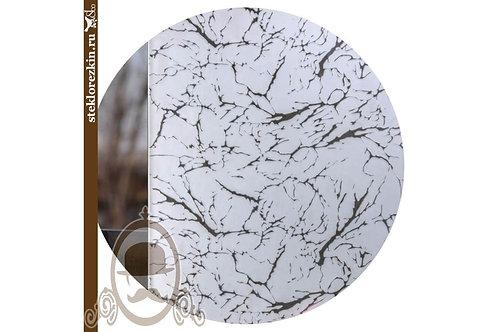 Зеркало узорчатое «Гранит» (Серебряное)