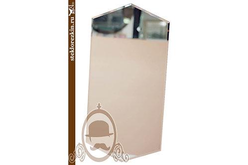 Зеркало №163 вертикальное ромбовидное недорогое с фацетом | Купить | Производство из наличия | Стекло и Зеркала | Брянск