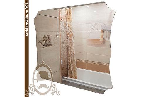 Зеркало №112 недорогое необычное универсальнео зеркало в интерьер | Купить | Сделать на заказ | Стекло и Зеркала | Брянск
