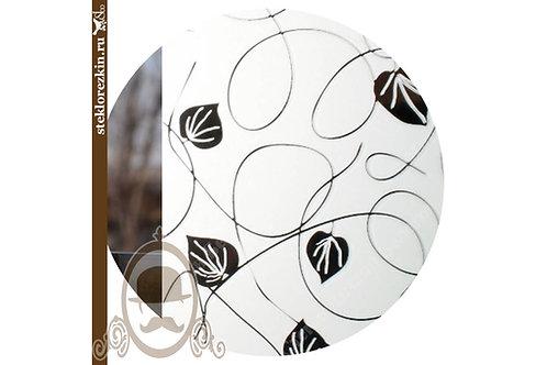 Зеркало узорчатое Плющ Серебряное Серебро | Для мебели мебельщиков | Резка | Мои размеры | Стекло и Зеркала | Брянск