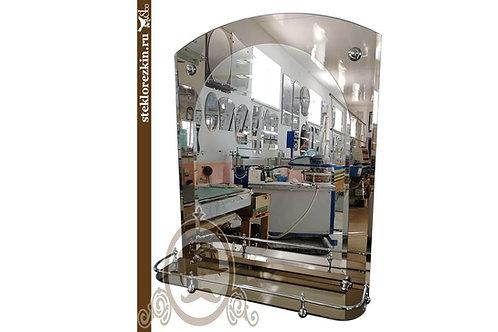 Зеркало №68 (бронза, с полкой)