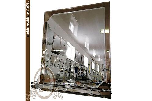 Зеркало №63.2 (бронза, с полкой)