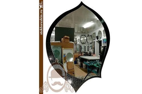 Зеркало №44.4 «Феникс» (Иви, чёрное)