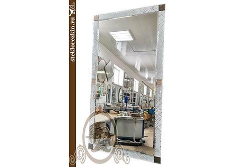 Зеркало №178 (Созвездие, серебристо-бронзовое)