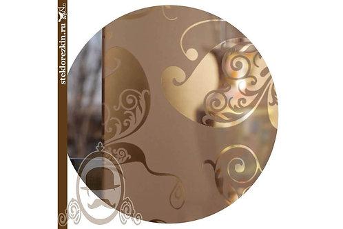 Зеркало узорчатое «Бабочки» (Бронзовое)