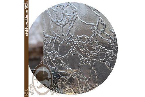Стекло рельефное «Дельта»   «Сузорье» (Бесцветное)