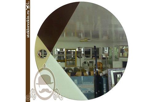Зеркало №26 «Пакман» (Лакобель, 3 цвета)