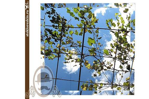 Зеркальная плитка  (Квадрат)