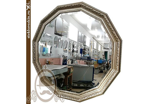 Зеркало №61.1 (золотистый багет)