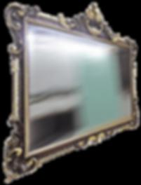 Зеркало фацет в ванную комнату коридор прихожую гостиную кухню в багет багетной раме рамке резка под размер купить | Брянск