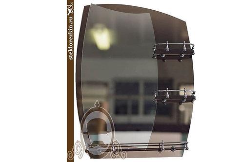 Зеркало №19 (бронза, 3 полки)