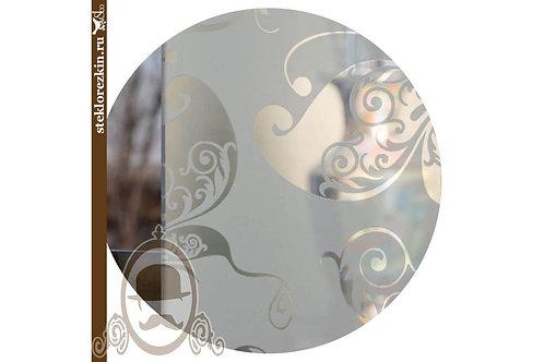 Зеркало узорчатое «Бабочки» (Серебряное)