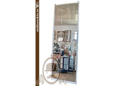 Зеркало №142 зеркальное панно ромбами на дверь в шкафа купе | Купить | Заказать под размер | Стекло и Зеркала | Брянск