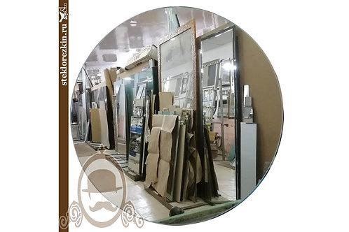 Зеркало №54 Круглое настенное зеркало дёшево с обработкой кромки | Купить | Изготовить недорого | Стекло и Зеркала | Брянск