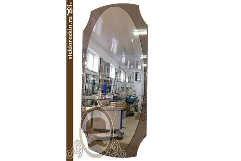 Зеркало №20.3 настенное овальное в прихожую индивидуальный размер | Купить | Вырезать на заказ | Стекло и Зеркала | Брянск