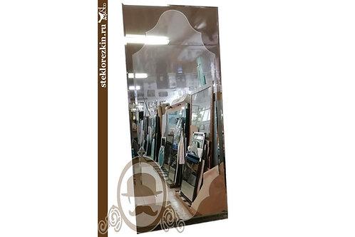Зеркало №121 красивое необычное в прихожую подобие рамы бронзовое | Купить | Заказать под размер | Стекло и Зеркала | Брянск
