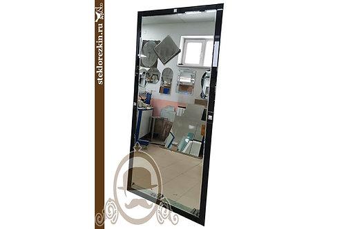 Зеркало №167 (высокое, чёрное Лакобель)