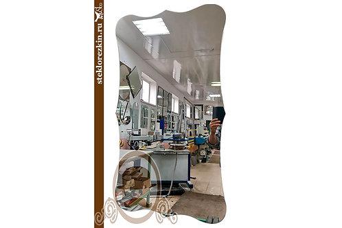 Зеркало №147.1 во весь рост с изгибами закруглённые углы в холл | Купить | Резка под свои размеры | Стекло и Зеркала | Брянск