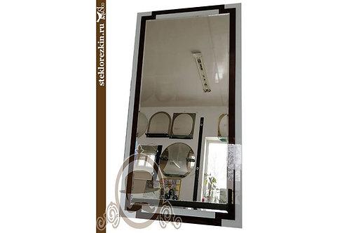 Зеркало №59 (Лакобель, 2 цвета Ч/Б)