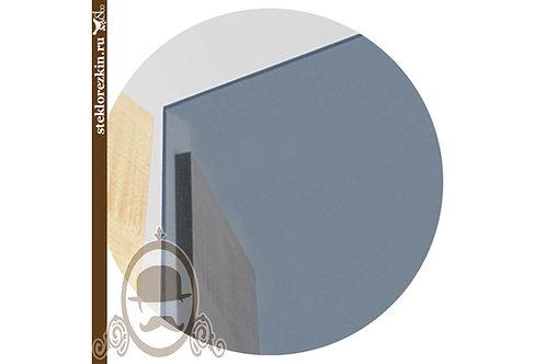 Зеркало графит резка обработка в фасады двери шкафы | Для мебели | Вырезать под нужный размер | Стекло и Зеркала | Брянск