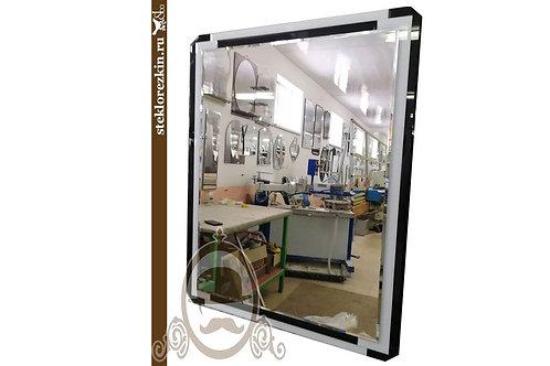 Зеркало №82 фацет квадратое стиль модерн lacobel чёрный для студии | Купить | Изготовить быстро | Стекло и Зеркала | Брянск