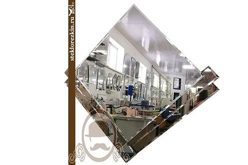 Зеркало №86.1 оригинальное наугольник мини декор зеркало бронза недорогое | Купить | Изготовление | Стекло и Зеркала | Брянск