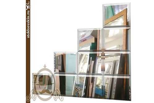 Зеркало №35.2 «Зеркальная композиция Лестница»