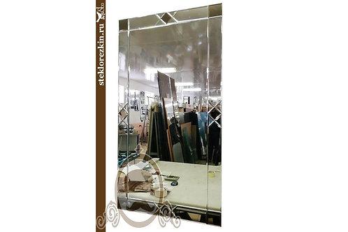 Зеркало №64.2 (классика, бронзовый декор)