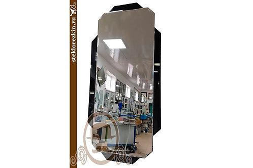 Зеркало №144.2 чёрное современный дизайн интерера в пол высокое коридор | Купить | Магазин зеркал | Стекло и Зеркала | Брянск