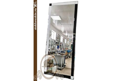 Зеркало №186 (Lacobel Ч/Б, 2 цвета)