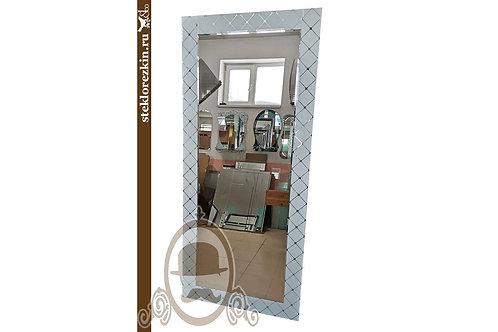 Зеркало №177 (Фуджи белое, в полный рост)